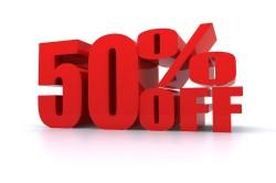 Уменьшение услуг ЖКХ на 50%