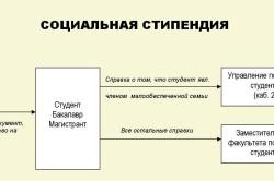 Процесс получения социальной стипендии