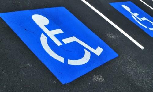 Формирвоание парковки для инвалидов