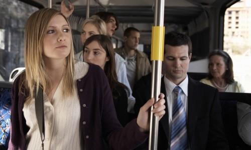 Поездка в общественном транспорте