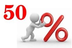 Льготы 50 % на оплату детского сада